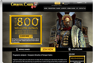 pay by phone casino Conquer Casino 1