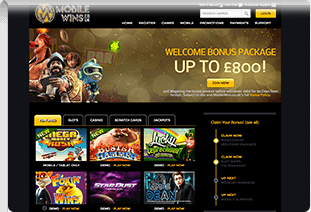 pay by phone casino mobile wins casino