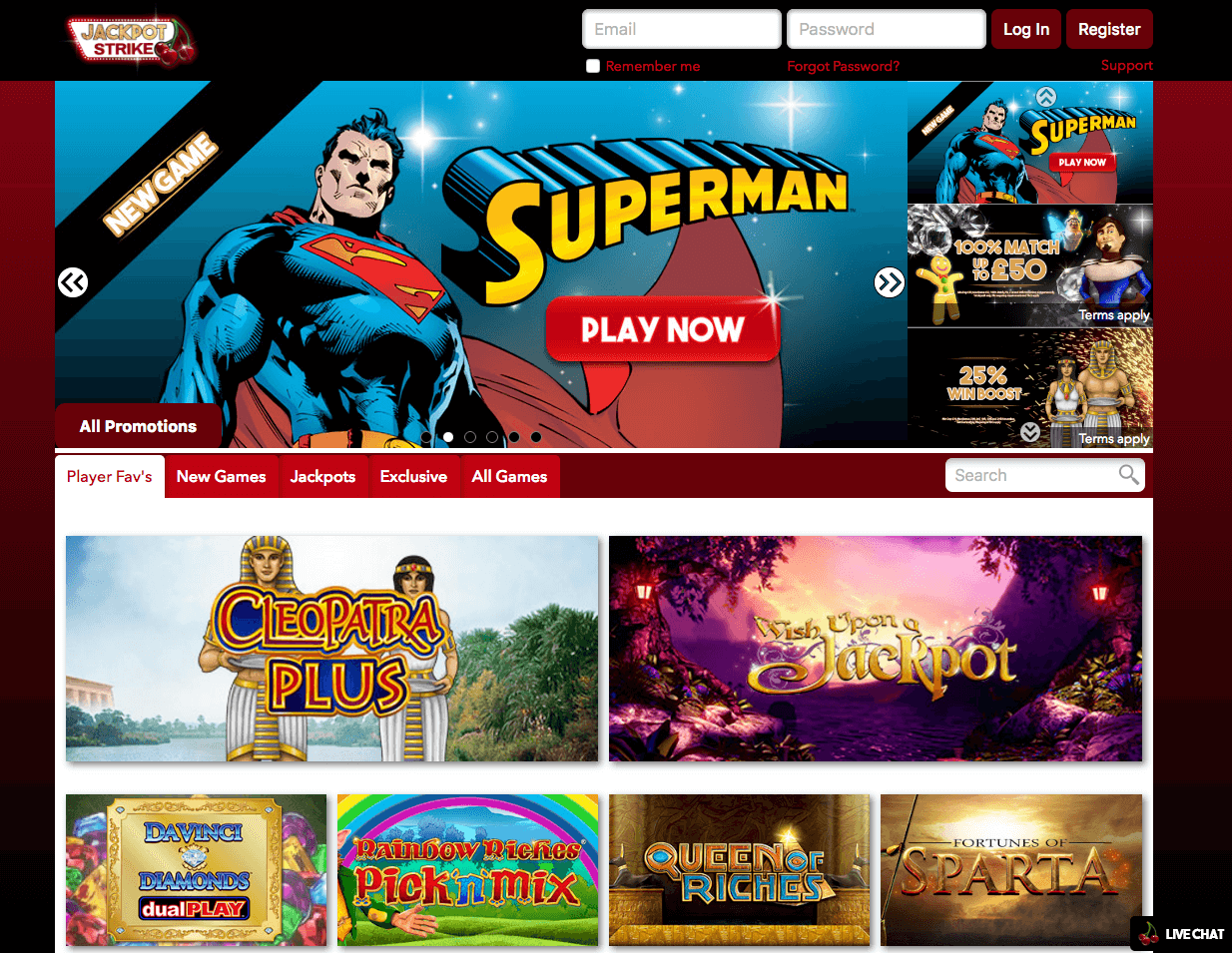webpage jackpot strike casino pay by phone casino