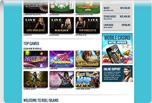 pay by phone casino reel island