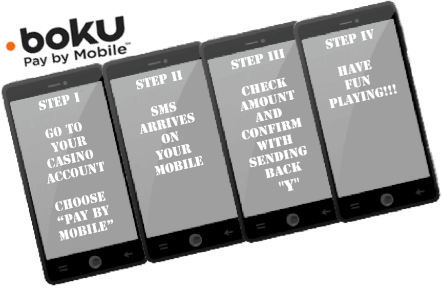 boku pay by mobile casino