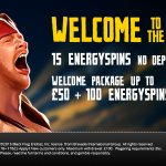 Energy Casino no deposit extra spins