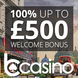 welcome offer 1st bonus bcasino