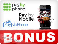 promotions in pay by phone casinos
